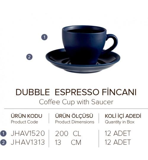 DUBBLE ESPRESSO FİNCANI