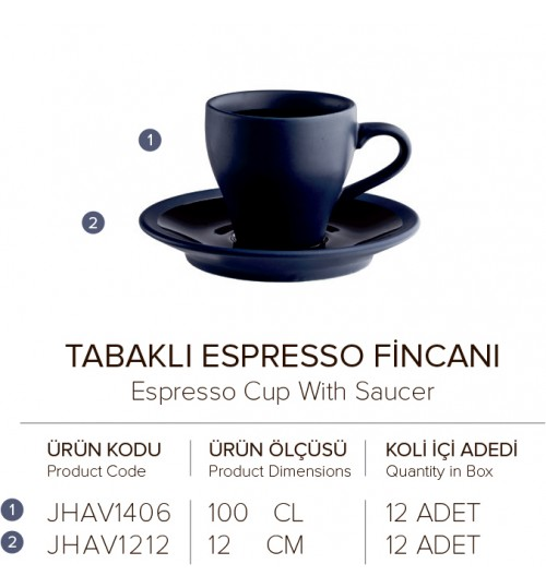 TABAKLI ESPRESSO FİNCANI