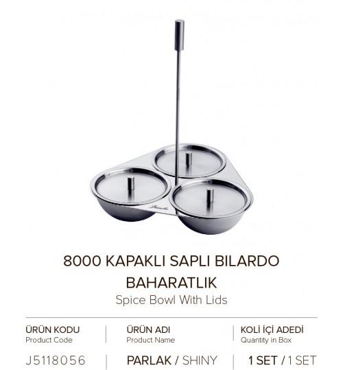 8000 KAPAKLI SAPLI BILARDO BAHARATLIK