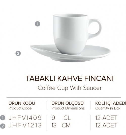 TABAKLI KAHVE FİNCANI