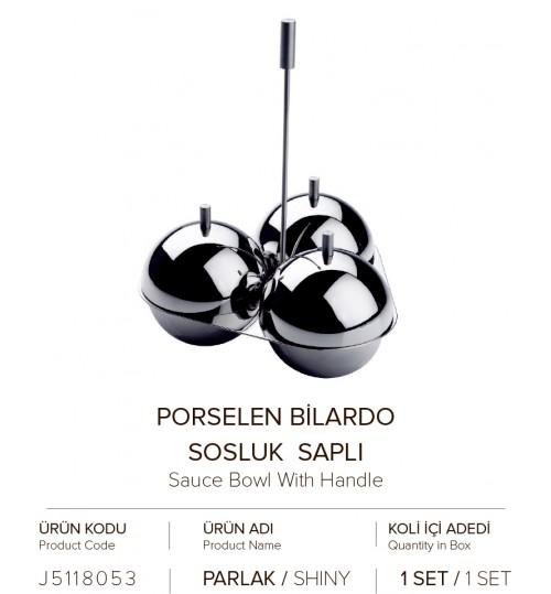 PORSELEN BILARDO SOSLUK SAPLI