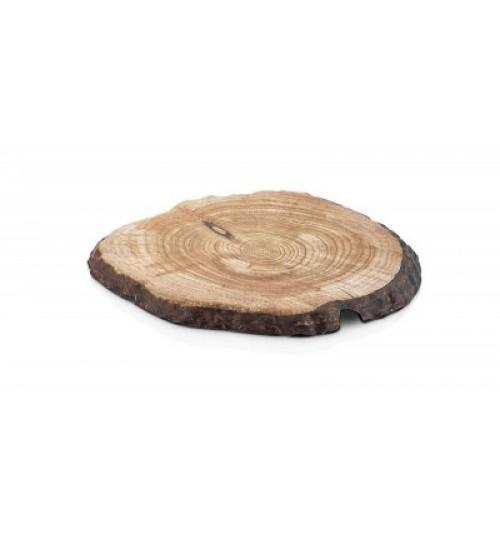 Ağaç Efektli Yuvarlak Pano