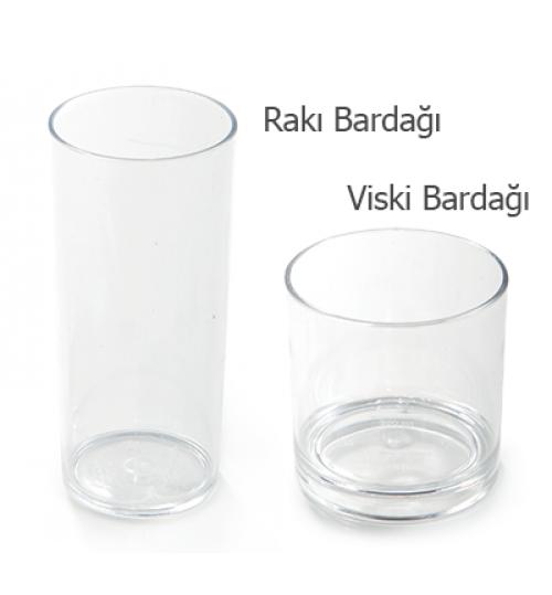 Rakı/Viski Bardağı
