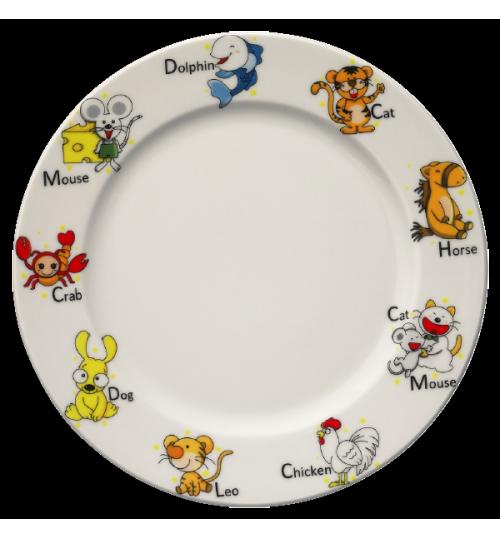 Kids Banquet Düz Tabak 21 cm