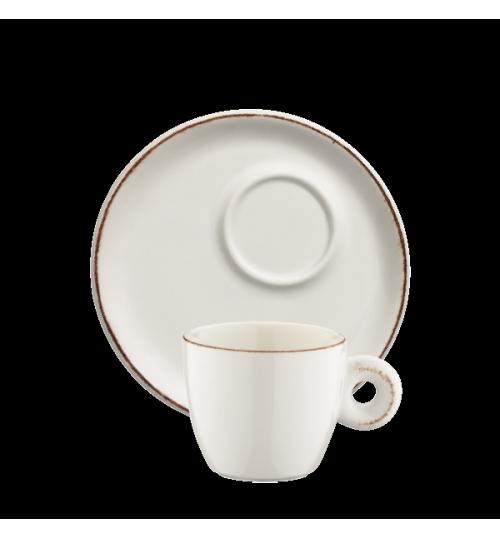 Retro Banquet Espresso Fincanı ve Tabağı