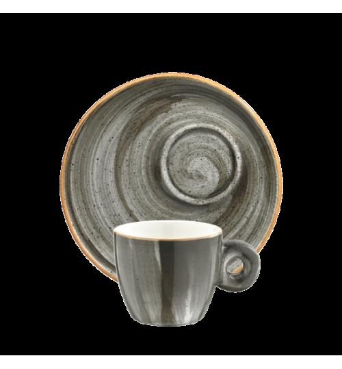 Space Banquet Espresso Fincanı ve Tabağı